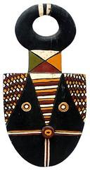 10Y_0919 (Kachile) Tags: art mask african tribal ctedivoire primitive ivorycoast gouro baoul nativebaoulmasksaremainlyanthropomorphicmeaningtheydepicthumanfacestypicallytheyarenarrowandfemininelookingincomparisontomasksofotherethnicitiesoftenfeaturenohairatallbaoulfacemasksaremostlyadornedwithvarioustrad