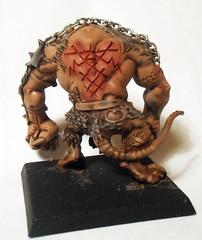 Rat Ogre Back (Camper_Bob) Tags: miniature painted fantasy warhammer skaven