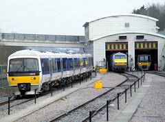 Wembley LMD (R~P~M) Tags: uk greatbritain england london train unitedkingdom railway turbo depot wembley dvt 165 dmu chilternrailways multipleunit dbregio