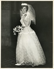 Auntie Sue - Wedding 1960s (TempusVolat) Tags: wedding love bride interesting 60s flickr dress image scanner auntie picture marriage wed scan aunt scanned getty epson sue 1960s swinging bridal gw gareth sixties tempus v200 wedded epsonscanner swingingsixties pefection 60sfashion sixtiesfashion epsonv200perfection volat wonfor mrmorodo garethwonfor tempusvolat