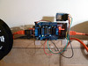 Polargraph motorshield connectors (Euphy) Tags: spring motor spool rj45 arduino adafruit motorshield polargraph