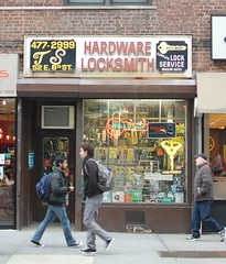 8th Street (Mattron) Tags: nyc newyorkcity newyork thevillage hardware manhattan gothamist locksmith curbed greenwichvillage oldsign 8thstreet