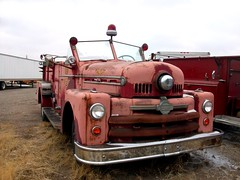 Seagrave fire truck (dave_7) Tags: old classic firetruck fireengine seagrave