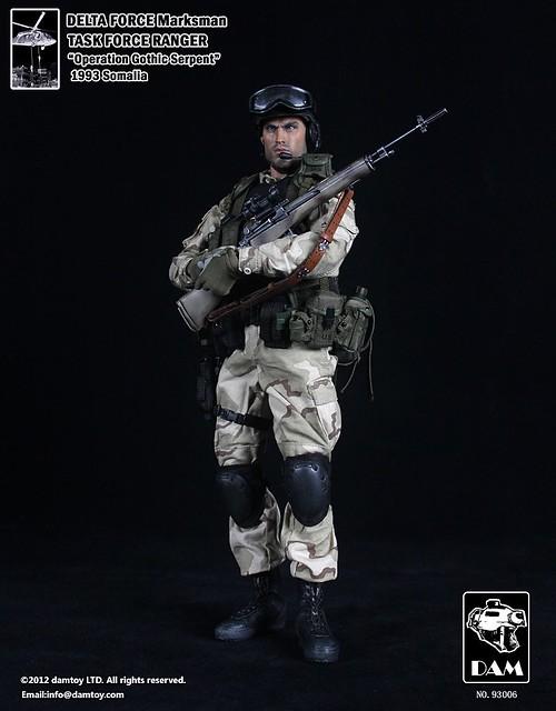 Dam Toy 美國特種三角洲部隊-狙擊手