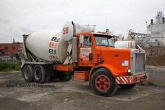 brooklyn concrete cement peterbilt cementtruck readymix concretetruck mixertruck trucknyc