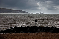 Across The Solent (me'nthedogs) Tags: lighthouse hampshire isleofwight solent needles