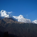 "Annapurna South (II) and Hiunchuli from Tadapani <a style=""margin-left:10px; font-size:0.8em;"" href=""http://www.flickr.com/photos/14315427@N00/6989117723/"" target=""_blank"">@flickr</a>"