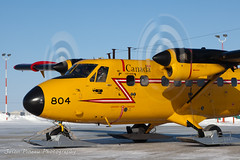 RCAF Twin Otter (Jason Pineau) Tags: winter rescue airplane search force nu aircraft aviation military air north royal canadian arctic skis nunavut 440 skiplane rcaf dehavilland cambridgebay twinotter dhc6 ycb wheelskis cycb