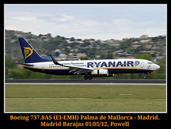 Un barrido para cambiar (Powell 333) Tags: madrid 3 plane airport spain day open aircraft air iii planes boeing ryanair avin aeropuerto ei avion 737 barajas openday aena boeing737 barrido emh madridbarajas 8as 7378as eiemh