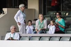Federer Family @ BNP Paribas 2012 Open