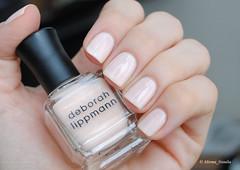 Deborah Lippmann Sarah Smile (Mirma Natalia) Tags: nail polish deborah lippmann