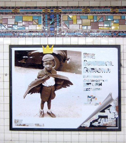 street new york nyc boy ny art collage museum angel brooklyn subway poster death graffiti king artist gallery peace cut graf rip great ad wing rene keith prince scene advertisement basquiat 80s painter rest crown tribute winged span guardian ricard jeanmichel muddclub haring posterboy jmb radiantchild radicalcamera