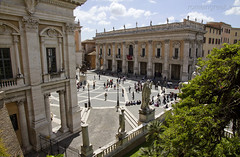 "Piazza del Campidoglio • <a style=""font-size:0.8em;"" href=""http://www.flickr.com/photos/89679026@N00/7116901393/"" target=""_blank"">View on Flickr</a>"