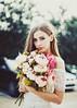 Bambi (Amanda Mabel) Tags: flowers sunset portrait sun model bokeh innocence bouquet peonies amandamabel breefry