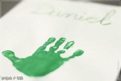 Project/365 #101 (Miguel Puerta) Tags: verde green kids canon painting paint hand daniel fingers nios palm infantil dedos mano palma pintura fingerprint 2014 huella project365 mpuerta