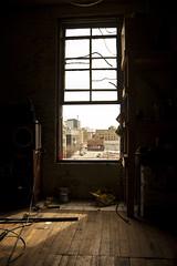 open window (Adrian stoness) Tags: canada window studio downtown winnipeg open view manitoba wearhouse
