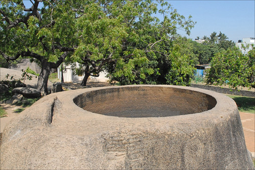 La baratte des gopis (Mahabalipuram, Inde)