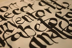 Detail of Millr's quote (Ivan Jernimo) Tags: brazil handwriting brazilian lettering calligraphy sumi portuguese mo caligrafia fernandes nanquim escrita     millr