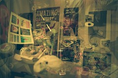"7.24 ""My Room"" (ChrisNicPics) Tags: film analog 35mm exposure pentax k1000 pentaxk1000 analogue triple slo sanluisobispo tripleexposure"