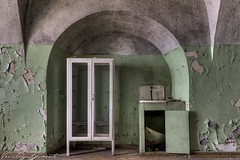 PP14small (Vanished Moments Fotografie) Tags: sea green abandoned lost bars moments estonia exploring prison jail walls fortress hdr estland vanished gevangenis patarei