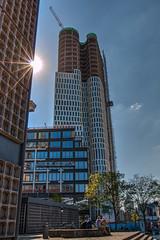 Urban - HDR (bohnengarten) Tags: urban sun berlin germany deutschland eos capital hauptstadt sunbeam sonnenstrahlen wolkenkratzer 70d