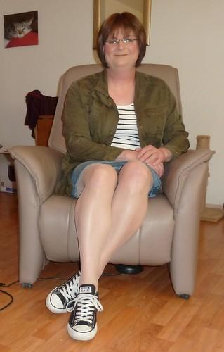 Resting my sexy legs ....