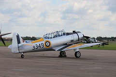 IMG_4331  North American Harvard (SomeBlokeTakingPhotos) Tags: duxford warbird secondworldwar imperialwarmuseum battleofbritain worldwar11