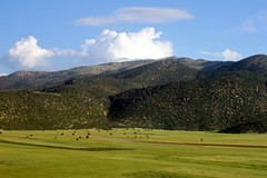 turkish landscape (12) (kexi) Tags: blue sky mountains green clouds canon turkey landscape view may fields paysage 2015 instantfave