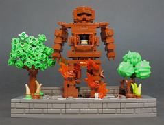 Wicker Man (Grantmasters) Tags: man lego radiohead wicker