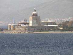 Messina, Sicily - IMG_5370 (Captain Martini) Tags: cruise lighthouse cruising cruiseships hollandamericaline sanranieri messinastrait koningsdam puntasanranieri