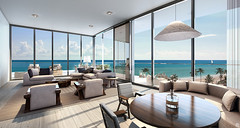 twisting oceanfront tower
