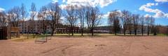 Kirkkiksen kentt (MikeAncient) Tags: panorama finland geotagged spring hdr vappu mntsl firstofmay kevt panoraama tonemapped tonemap 5exp