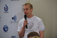 Bonvol (Borys Kozielski) Tags: wikipedia wikimedia coference wikimediapolska