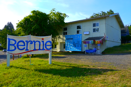 Bernie Sanders' Campaign Headquarters in by Rick Obst, on Flickr