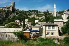 Pociteli (Poitelj) near Mostar (Senol Demir) Tags: green castle village mostar bosnia ngc bosna bosnahersek concordians eeecotourism pociteli