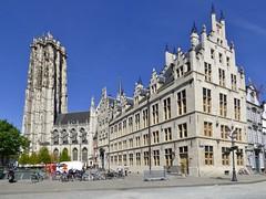 Mechelen (BE) (Bvaerrts) Tags: place belgium belgique belgie belgi grand be markt mechelen flanders grote malines vlaanderen sintromboutstoren sintromboutskathedraal beyaert mecheln romboutstoren mechlin