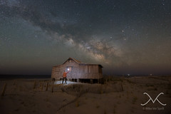 Midnight Explorer at Judges Shack, Seaside New Jersey (Mike Ver Sprill - Milky Way Mike) Tags: ocean park new light sea portrait sky art beach mike self way stars landscape island photography lights star michael boat seaside sand nikon long exposure alone tyson nightscape state time outdoor unique explorer great fine nj neil stargazer galaxy photograph le sphere shore astrophotography pollution midnight jersey series gary astronomy shack universe heights milky seashore cosmos lapse ver d800 judges fong selfie ibsp d600 1530 gazer gazers 1424 degras sprill versprill