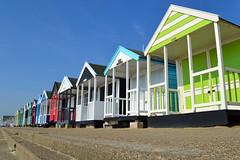 Southwold (AndyorDij) Tags: uk england colour beach suffolk spring unitedkingdom southwold beachhuts 2016