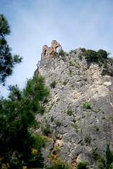 En haut les vestiges (CeriseBleuePhoto) Tags: monument architecture ruines hauteur