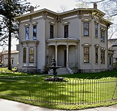 The Cappon House -Holland Michigan (Meridith112) Tags: house holland building home netherlands architecture mi fence spring nikon midwest mayor michigan may 9thstreet italianate 2016 1874 lavina ottawacounty nikon2485 capponhouse cappon netherlandsmuseum nikond610 isaaccappon