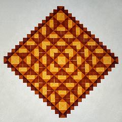 Big Blocks (De Rode Olifant) Tags: paper origami tessellation paperfolding bigblocks marjansmeijsters