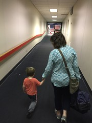 "Paul Walks with Grandma Miller in Dallas • <a style=""font-size:0.8em;"" href=""http://www.flickr.com/photos/109120354@N07/27244232513/"" target=""_blank"">View on Flickr</a>"