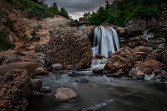 The Falls of Fifth Water (tjockisbonde) Tags: waterfall water flowingwater desert oasis creek stream river runningwater utah spanishfork fifthwaterhotsprings hiking outdoors nature canon