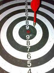 Target! (farrukhathar) Tags: pakistan red game nokia target bullseye aim 2008 darts lahore n73