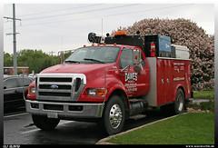 "Ford F-750 ""Dawes"" (uslovig) Tags: ford minnesota wisconsin truck crane rental lorry camion madison f series mn wi kran rigging lastwagen dawes lkw 750 woodbury lastkraftwagen vermietung f750 mieten x766"