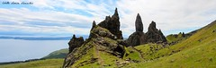 Old Man of Storr (Colette_Courgette) Tags: ocean blue sunset sea sky panorama west skye forest canon landscape island grey coast scotland waterfall highlands day harbour ridge fairy pools oban loch magical isle cuillin storr cuilin 700d