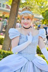 Cinderella (Magical Memories by Maddy) Tags: disneyland cinderella disneyprincess disneyfacecharacters