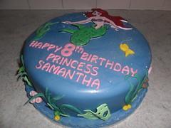 disney little mermaid birthday cake (Sprinkled With Love cupcakes by lizzie sprinkledwi) Tags: birthday car cake happy model little disney mermaid