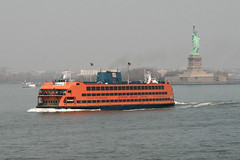 Staten Island Ferry - Samuel I Newhouse (Howard_Pulling) Tags: usa ny newyork ferry canon easter us photo photos picture s american april statueofliberty ferries statenislandferry 2011 400d hpulling howardpulling