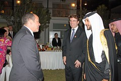 The Count-down to the Olympic Games reception (UK in Bahrain) Tags: bahrain president lindsay bin his iain british olympic ambassador hamad highness sheikh committee nasser 2012 alkhalifa